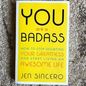 4/$50 - Book - You Are a Badass® - Jen Sincero